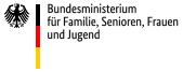 Logo Bundesministerium für Familie,Senioren, Frauen und Jugend